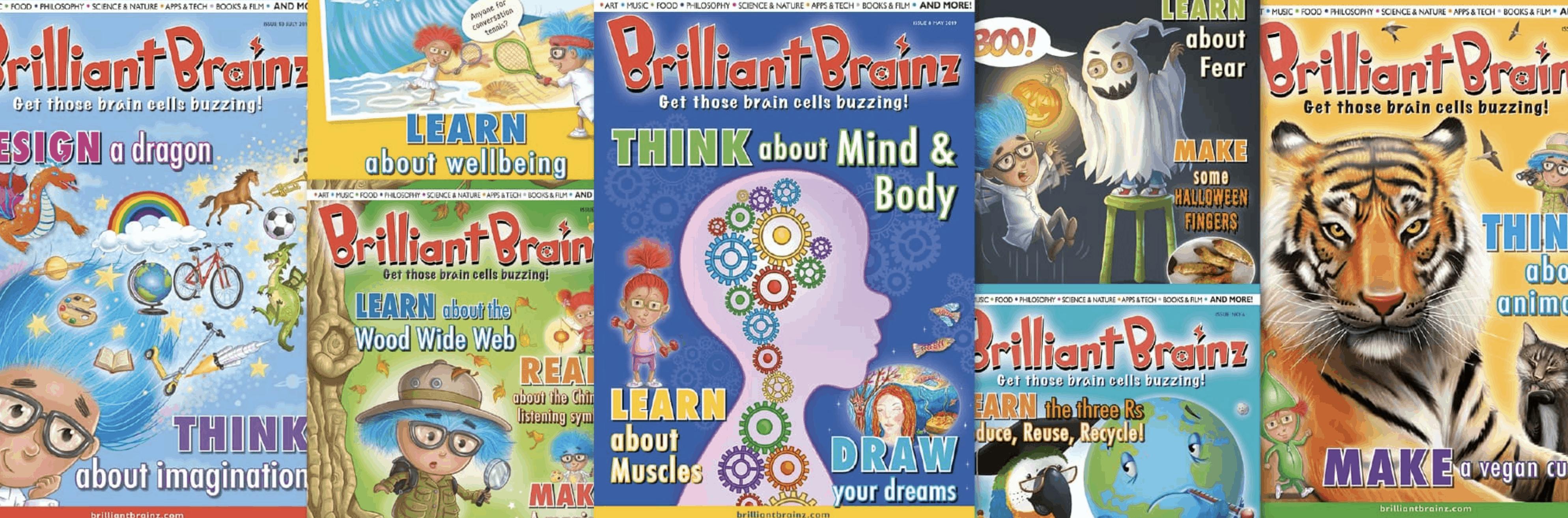 Brilliant Brainz Magazines