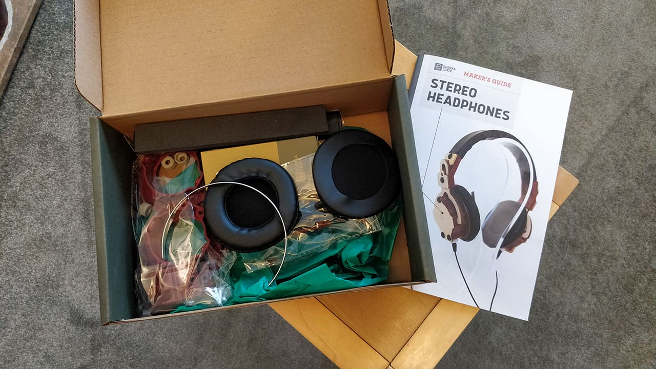 Make a pair of Headphones